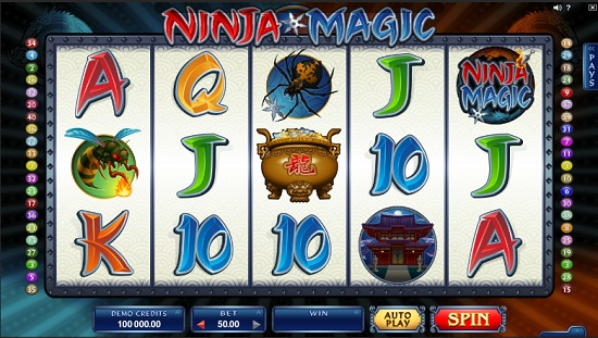 ninja magic slot screenshot big