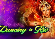Dancing in Rio slot logo